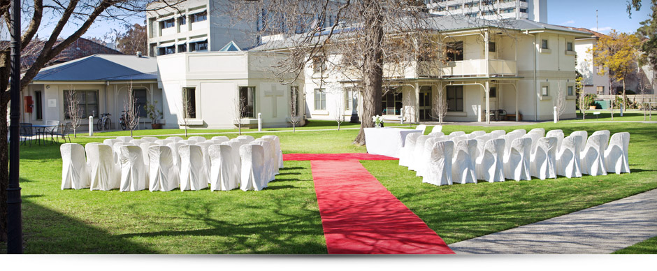 Garden Wedding Venue in Melbourne