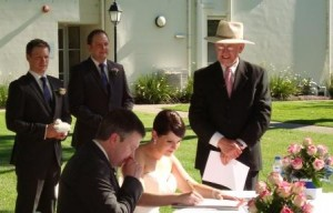 Denis Minogue Marriage Celebrant