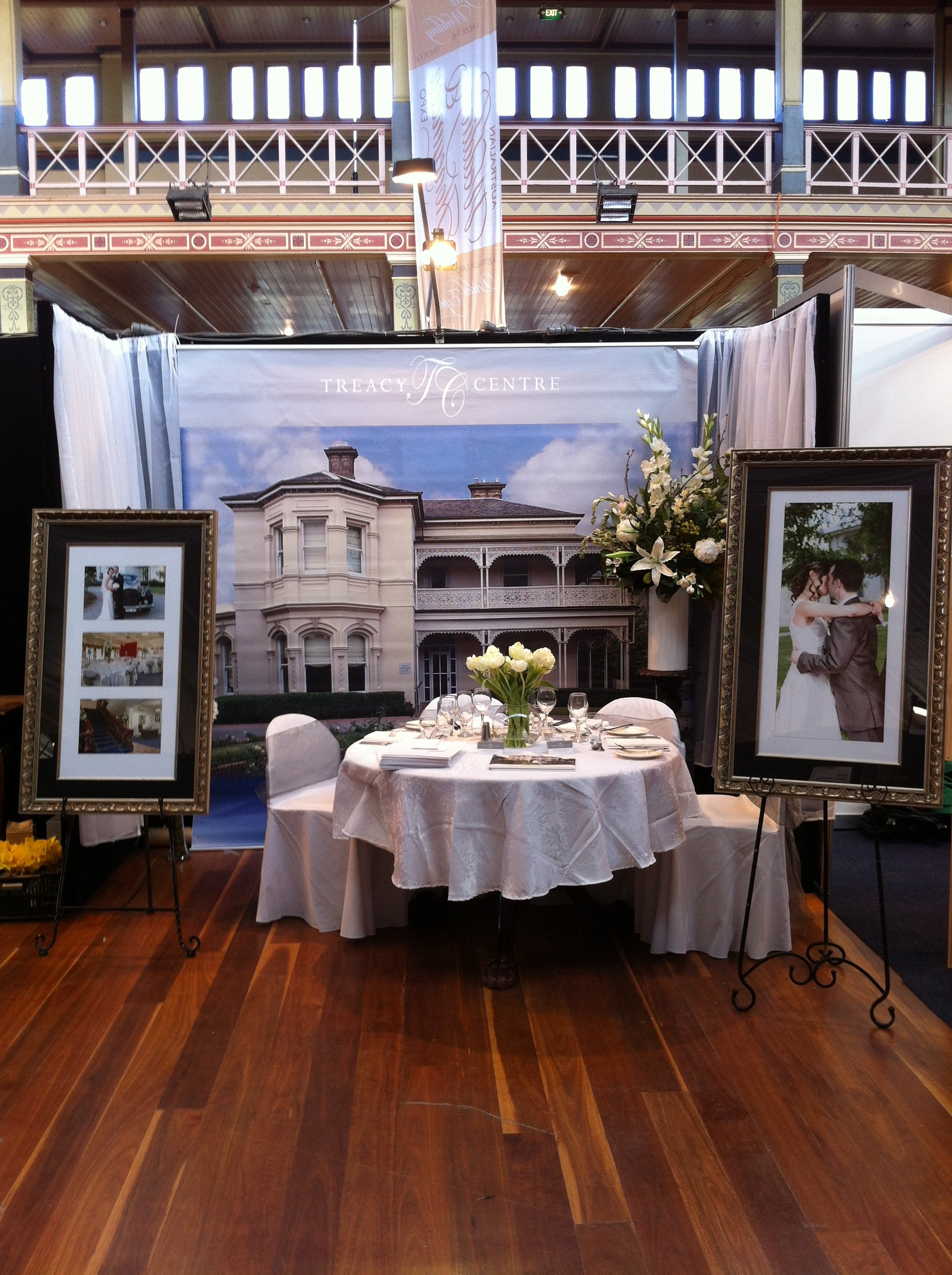 Our Site at the 2013 bridal expo